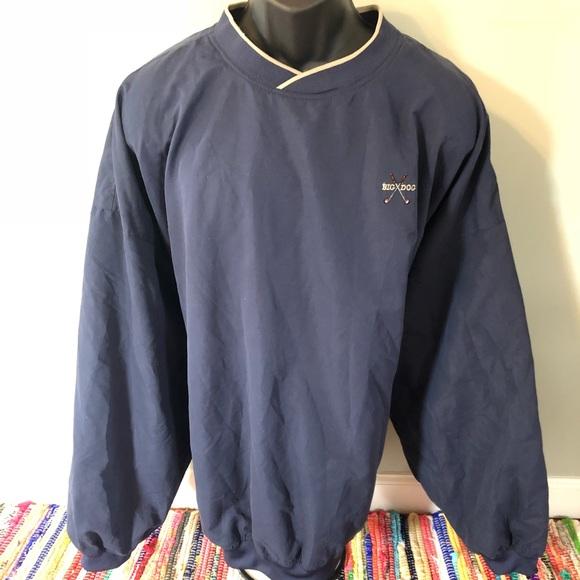 Vintage Other - 90s Big Dogs Golf Windbreaker Jacket Coat Pullover